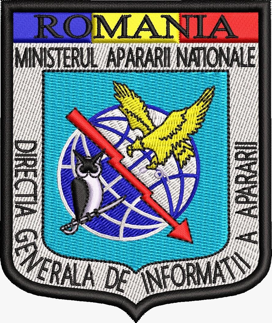 ECUSON / EMBLEMA - DIRECTIA GENERALA DE INFORMATII A APARARII - EMBLEME  DIRECTIA DE INFORMATII MILITARE - jumbo-officeprint.ro