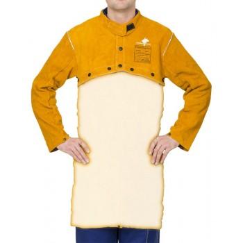 Bolero pentru sudor Kevlar - WELDAS Golden Brown 44-2800