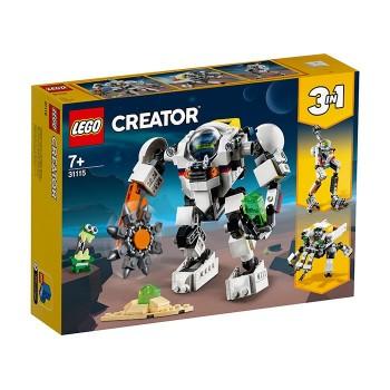 Robot miner spatial