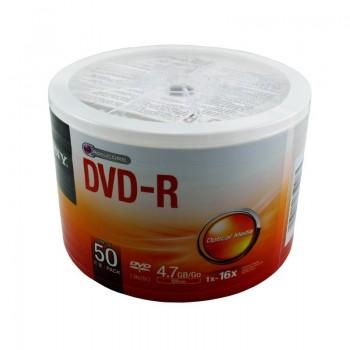 DVD-R Sony, 4.7GB, 16x, 50 buc
