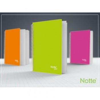 Caiet Notte Trend, A5, cu spira, 60 file, dictando