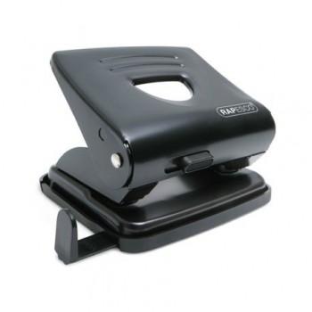 Perforator metalic Rapesco 825, 25 coli, negru
