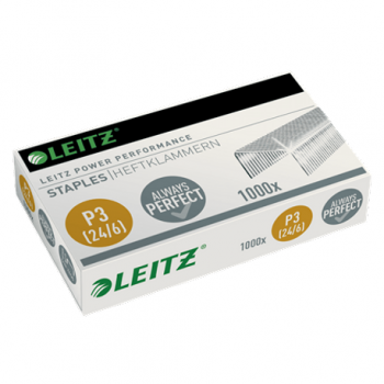 Capse 24/6 Leitz Power Performance, 1000 bucati/cutie