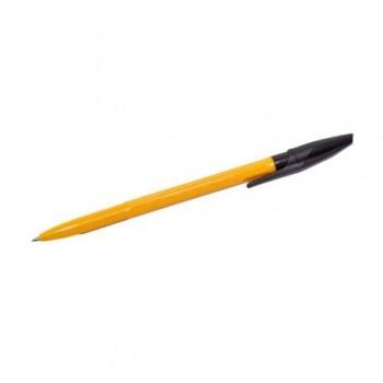 Pix cu bila, unica folosinta, 1.0 mm, negru