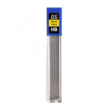 Mine creion mecanic Beifa, 0.5 mm, HB