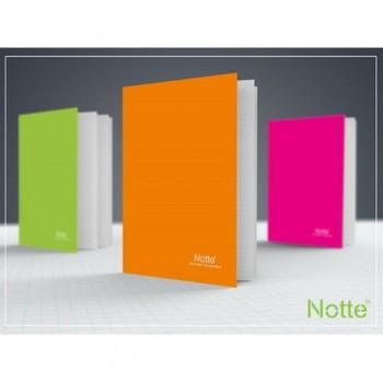 Caiet Notte Trend, A5, coperta PP, capsat, 40 file, dictando