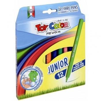 Carioci Toy Color Juniori, 12 culori