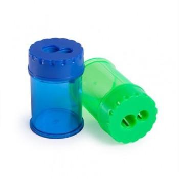 Ascutitoare dubla Rapesco Double Barrel, cu container