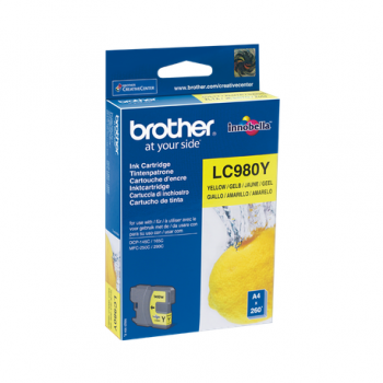 Cartus OEM Brother LC980Y