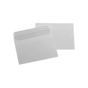 Plic LC/6, 114 x 162 mm, siliconic, alb, 25 bucati/set