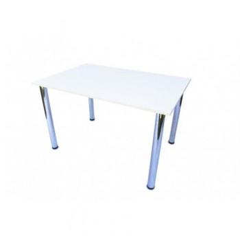 Masa bucatarie, 120 x 80 x 74 cm, alb