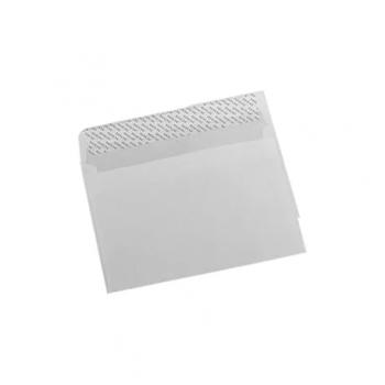 Plic LC/6, 114 x 162 mm, alb, autoadeziv, 25 bucati/set