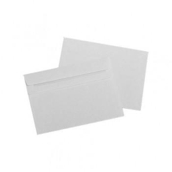 Plic LC/5, 162 x 229 mm, alb, autoadeziv, 25 bucati/set