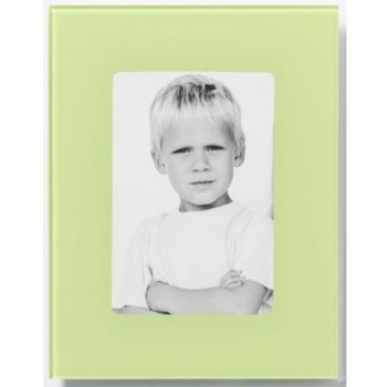 Rama foto Naga, 18 x 23 cm, verde deschis, pentru foto 10 x 15 cm