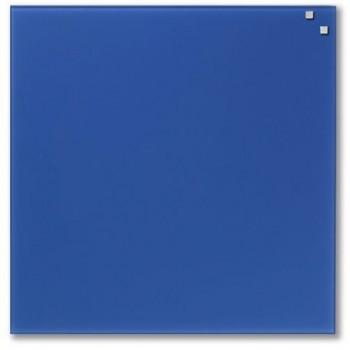 Tabla magnetica de sticla Naga, 45 x 45, albastru