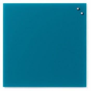 Tabla magnetica de sticla Naga, 45 x 45, verde marin