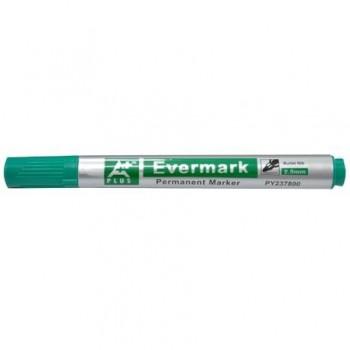 Marker permanent, varf rotund, 2.5 mm, verde