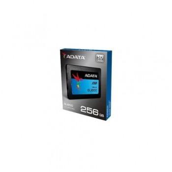 SSD ADATA, Ultimate SU800, 2.5, 256Gb, SATA III, 3D TLC NAND State Drive, R/W 560/520MB/s