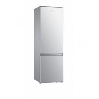 Combina frigorifica Heinner HC-H273SA+, capacitate bruta: 282L, capacitate neta: 273 L, clasa energetica: A+, 2 usi, 3 rafturi de sticla frigider, 3