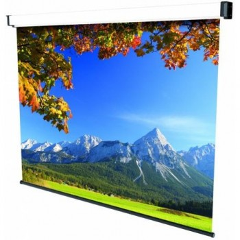 Ecran de proiectie montabil pe perete Sopar New Spring 220 x 200cm, Mecanism de blocare, 3220, SP3220