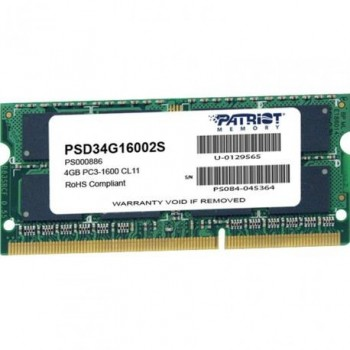 PT SDDR3 4GB 1600 PSD34G16002S