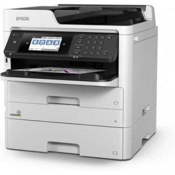 Multifunctional inkjet color Epson WF-5710DWF, dimensiune A4 (Printare, Copiere, Scanare, Fax), duplex, viteza 34ppm alb-negru, 34ppm color,
