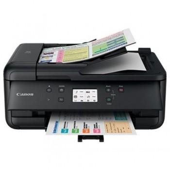 Multifunctional inkjet color Canon Pixma TR7550 Black, dimensiune A4 (Printare, Copiere, Scanare, Fax), viteza 15ipm alb-negru, 10ipm color,