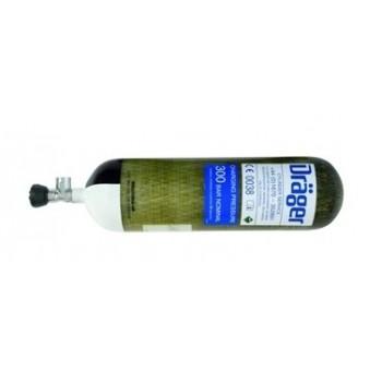 Butelii cu aer comprimat Dräger din otel - Accesorii pentru aparatul de respirat PSS