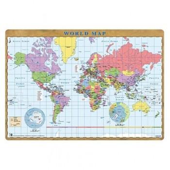 Mapa de birou Grupo Erik, harta lumii