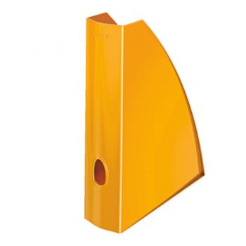 Suport vertical documente Leitz WOW, portocaliu metalizat