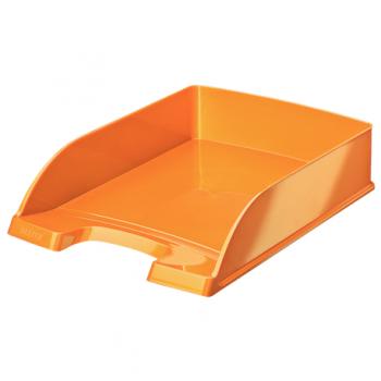 Tavita documente Leitz WOW, portocaliu metalizat