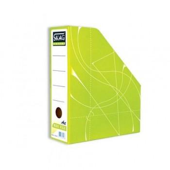 Suport vertical documente Skag Fancy, verde deschis