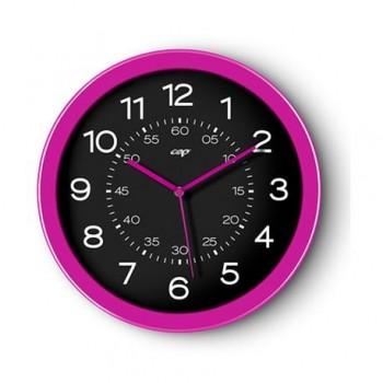 Ceas de perete CEP Gloss, 30 cm, roz