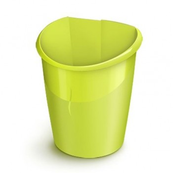 Cos de birou CEP Ellypse XtraStrong, 15 l, verde