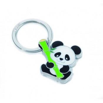 Breloc metalic chei Troika Bamboo Panda
