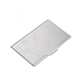 Portvizit metalic Troika Global Contacts, gri