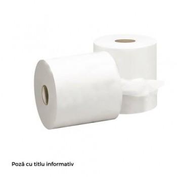 Hartie igienica, 2 straturi, alb, 24 bucati/set
