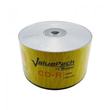 CD-R Traxdata, 700MB, 52x, 50 buc