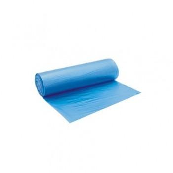 Saci menajeri 120 l, 70 x 110 cm HDPE, albastru, 10 bucati/rola