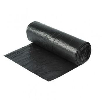 Saci menajeri 35 l, 50 x 70 cm, LPDE, negru, 15 bucati/rola