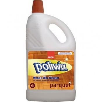 Detergent pentru pardoseli din lemn Sano Poliwix, 2 l