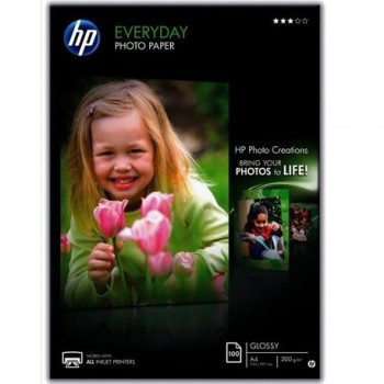 Hartie foto HP Semi-Glossy, A4, 200 g/mp