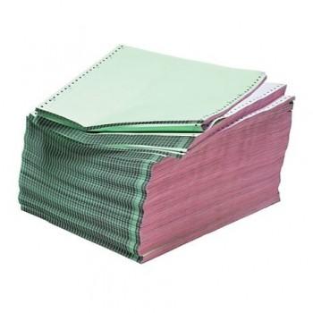 Hartie imprimanta matriceala A4, 2 exemplare, alb/alb