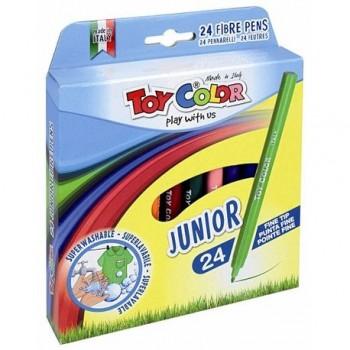 Carioci Toy Color Juniori, 24 culori