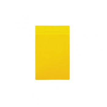 Buzunar vertical Tarifold pentru identificare, A5, galben, 10 bucati/set