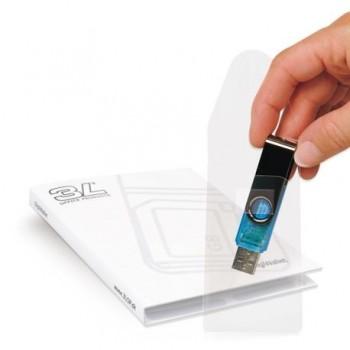 Buzunar autoadezive 3L Office, pentru USB, 10 bucati/set