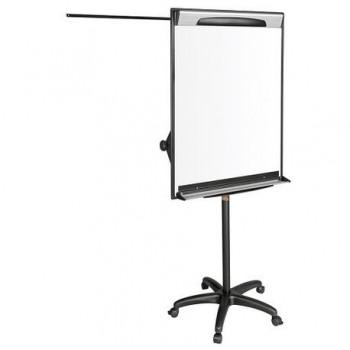 Flipchart Design magnetic mobil Bi-Silque, rama din aluminiu, 70 x 100 cm