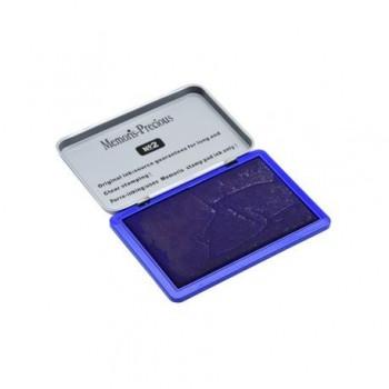 Tusiera metalica, 7 x 11 cm, albastru