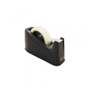 Dispenser cu nisip pentru banda adeziva Rapesco, 25 mm x 66 m, negru