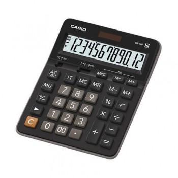 Calculator de birou Casio GX-12B Portrait, 12 digits, negru